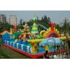 The child inflatable trampoline, inflatable bounce bed, outdoor recreation equipment, inflatable toy