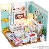 hongda المنزلية DIY فراشة العسل اليد تجميع نموذج بناء الإبداعية هدية عيد ميلاد هدية light-e