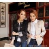 REUSE SY2202 fashion British double breasted suit dress jacket Slim small wholesale cooperation
