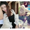 Manpower necessary ~ simple super fairy Lace Crochet BianFuShan cardigan sunscreen clothing