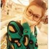 50431 Yang Mi Fan Bingbing retro glasses couple eye box big box rivet glasses frame