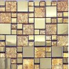 S1 gold and precious metal ceramic resin mosaic
