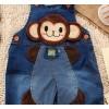 2014 cute child cowboy suspenders trousers cute doll's arrogant monkey a pro NEW