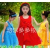 2015 summer new girl dress skirt dress red flash drill sweet high-end princess skirt stage master