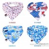 Snap triangle Double thick cotton towel towel baby slobber children head baby supplies