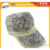 The new spring and summer floral flat cap child outdoor parent-child paragraph duck tongue eaves bas