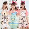 Wholesale and retail 2014 new summer female cotton Nightgown Korean cartoon Nightgown
