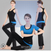 Odik and yoga clothing fitness wear long sleeved nylon ladies high-end nylon yoga clothes with bra