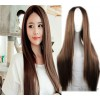 New fashion aliexpress wig in wig long straight hair repair face film false realistic cosplay