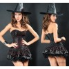 Black Witch Princess Halloween costumes cartoon game Cosplay Princess dance performances.