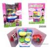 Kitchenware toy kitchen + vegetable small kitchen utensils children play simulation cosplay