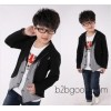 2014 autumn jacket Korean high-grade fabric suit coat spring children's clothing foreign trade