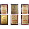 Fine chemicals company environmental protection and energy saving certificate of honor