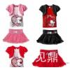 جديد حصري ملابس الأطفال بالجملة kimocat المزيف حصري 2 تنورة اللباس الكورية الخارجية طراد