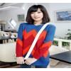 رمز اللباس الحارة البلوزات المخزون الكورية المرأة سترة سترة تجارة الجملة الأساسية