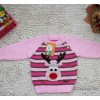 In the autumn of 14 children's clothing sales of foreign trade knitted fringe deer