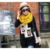 New South Korean manufacturers selling a long paragraph sweater sweater wholesale bedding women's in