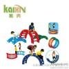 keishing الترفيه 1 / 4 جولة الأطفال ألعاب بلاستيكية