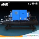 Carbohydrate chiller, water cooled screw chiller 60P Fujian direct 80P plating