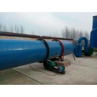 Rotary dryer is material heating and drying device.