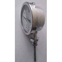 Stainless steel thermometer for petroleum drilling and chemical engineering
